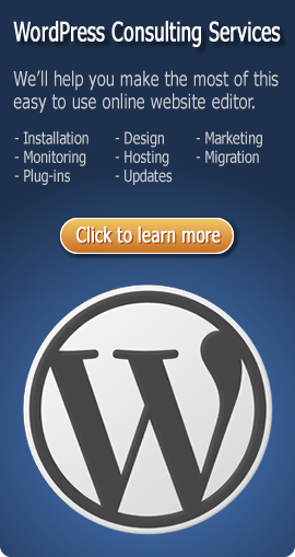 wordpress installation and design